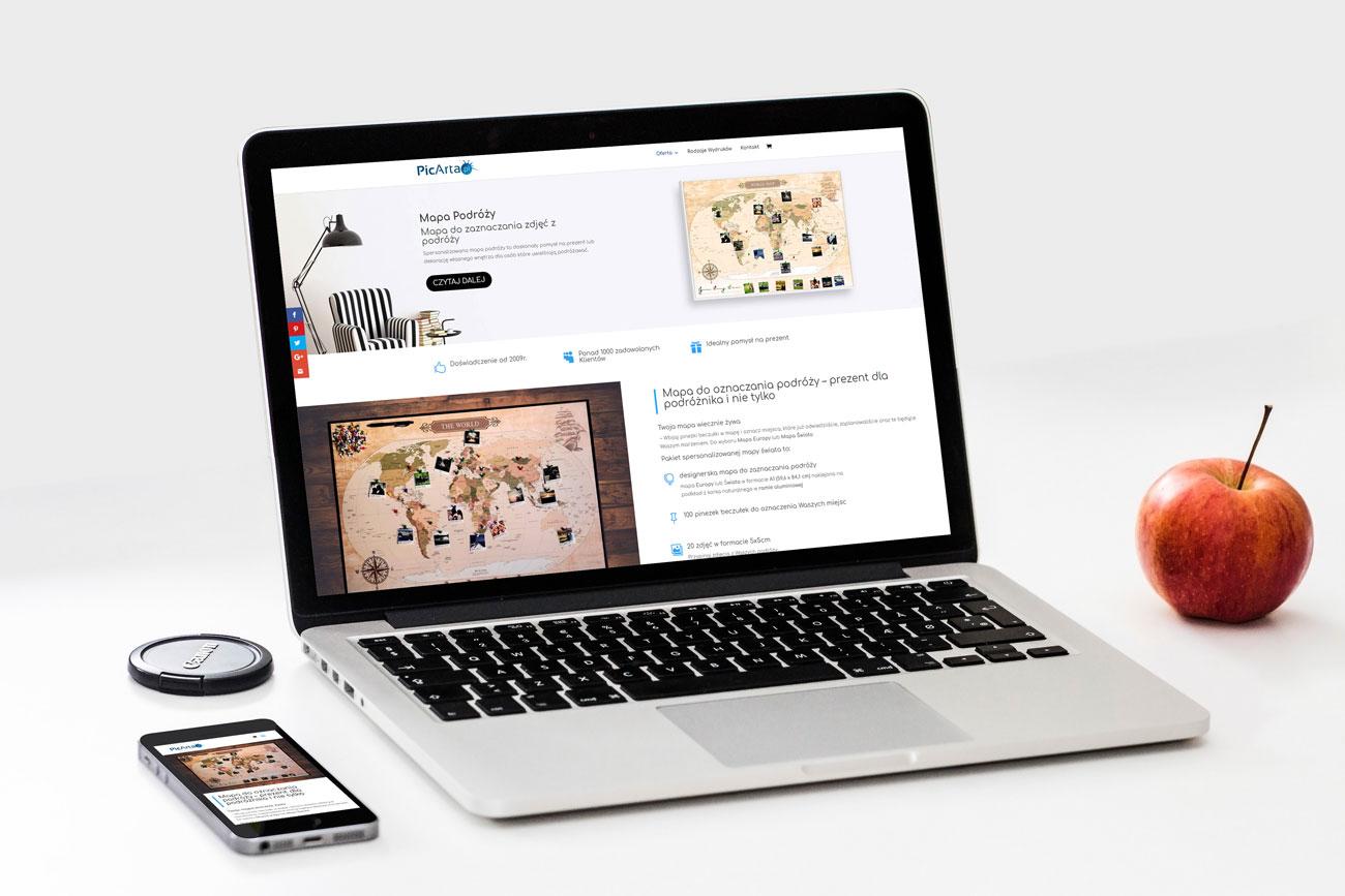 Portfolio tworzenie stron internetowych