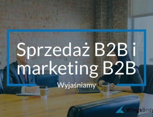 Sprzedaż B2B i marketing B2B